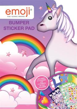 Emoji Unicorn Bumper Sticker Pad