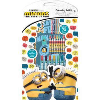Minions Movie Colouring Art Kit