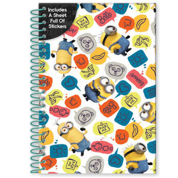 Minions Movie A5 Soft Cover Notebook