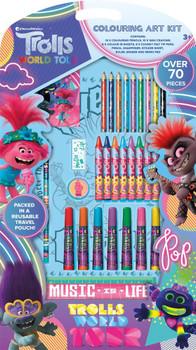 Trolls Movie Colouring Art Kit