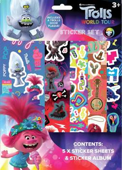 Trolls Movie Sticker Set