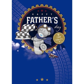 Car Crazy Someone Cute Me To You Fathers Day Greeting Card