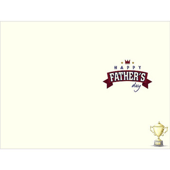 Me To You Bear Best Dad Holding Trophy Father's Day Card