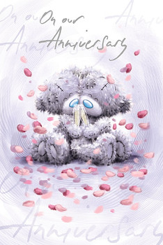 Anniversary Card Our Bears Celebrating