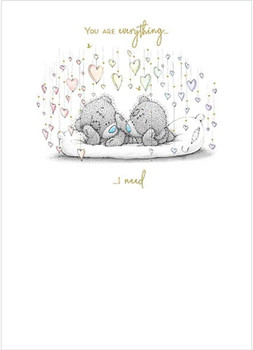 Me To You Bear Bears On Pillow Card