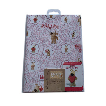 Happy Mothers Day Gift Wrap 2 Sheets 2 Tags