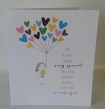 6 x Someone Very Special Birthday New Uk Greetings Cute Cards {DC}