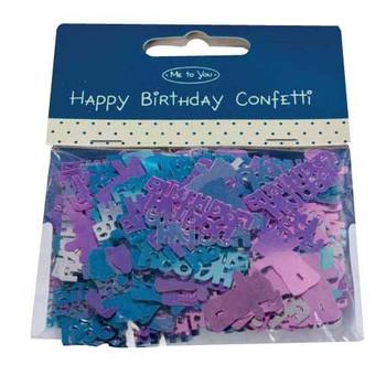 Happy Birthday Me to You Bear Confetti
