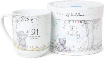 21st Birthday Signature Collection Me to You Boxed Mug