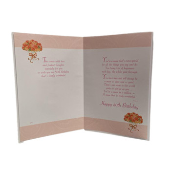 Special Ages With Love Mum on your 80th Birthday Card