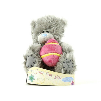 """5"""" Me to You Bear Holding Egg"""