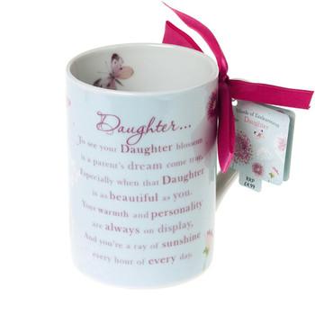 Wishing Well Daughter Words of Endearment Sentimental Mug