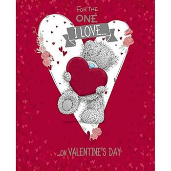 Me to You One I Love Valentine's Day Tatty Teddy Bear