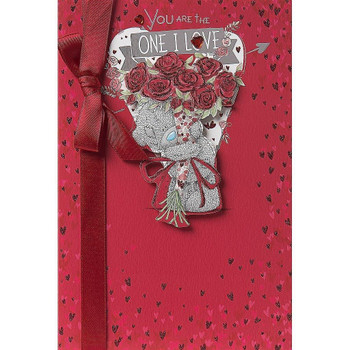Me to You You are the One I Love Valentine's Day Card Tatty Teddy Bear