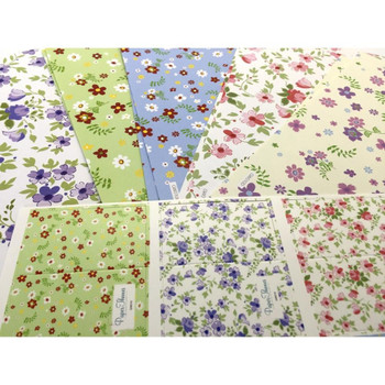 10 Sheet of Mix Designer' Soft touch Foiled Open, birthday, Mothers'day Gift wrapping Paper