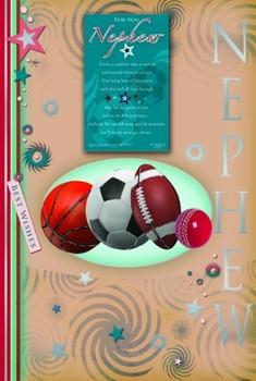 For You Nephew Keepsake Treasures Birthday Card