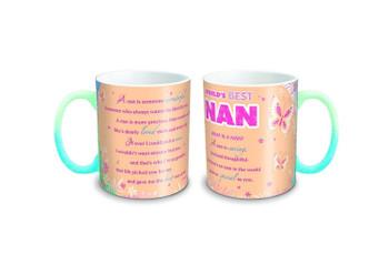 """World's Best Nan"" Sentimental Mug With Presentation Box"