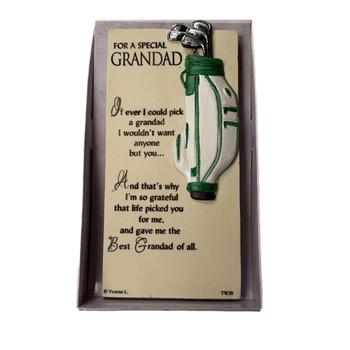 A Special Grandad Timeless Words Plaque