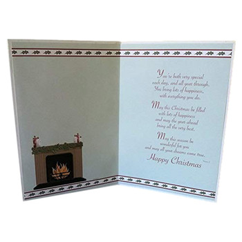 Daughter and Son-in-law At Christmas Sentimental Verse  Sensations Card
