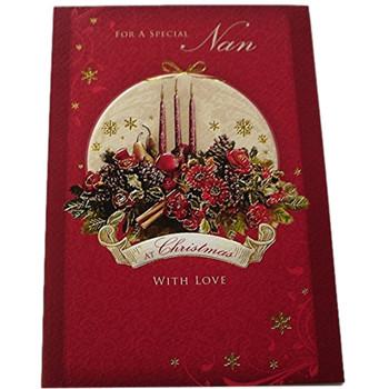 Nan Nice Sentimental Verse Religious Christmas Card