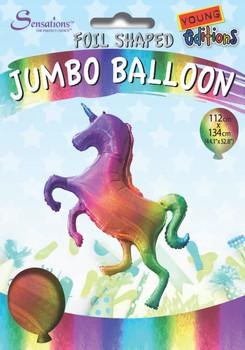 Giant Standing Unicorn Jumbo Foil Balloon