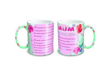 Sweet Sentiments Worlds Best Mugs Mum in a Million