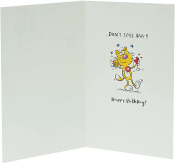 An Excuse For Booze 18th Birthday Humour Card