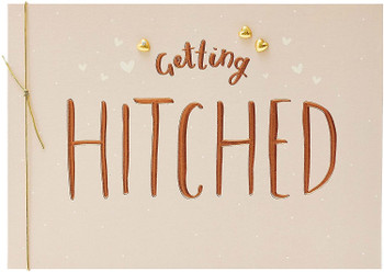 Getting Hitched Wedding Congratulations Card