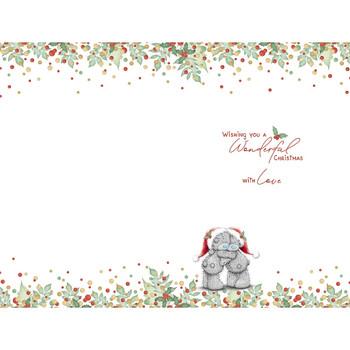 Special Grandparents Bears Singing Carols Design Christmas Card