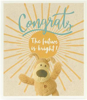 Boofle Congratulations Celebration Card