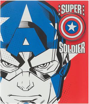 Disney Avengers Captain America Birthday Card with Badge