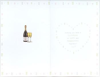 Wedding Day Boofles Toast Card