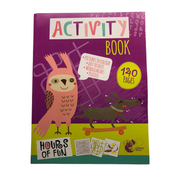 140 Pages Activity Book by Chiltern Stationery