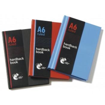 A6 Hardback Ruled Book
