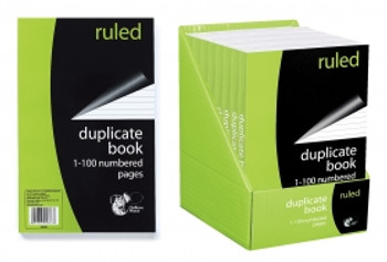 Duplicate Ruled Book (100pages)
