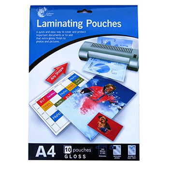 A4 Laminating Pouches - 303mm x 216mm - Pack of 10