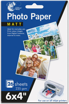 "Matte Photo Paper 6 x 4"" (26 Sheets)"