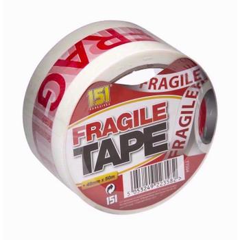Adhesive Fragile Tape 48mmx50m