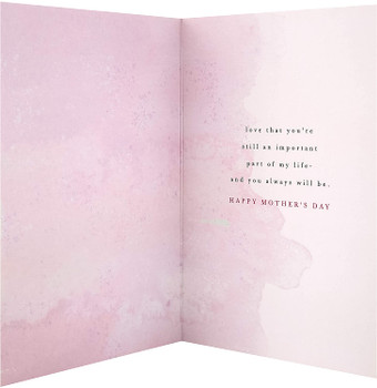 For Grandma Contemporary Rose Gold Mother's Day Card