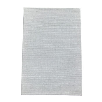 Pack of 10 10x15cm Blank White Flat Stretched Board Art Canvases By Janrax