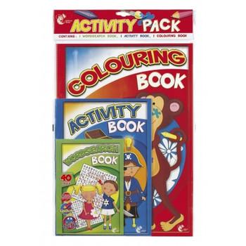 Chiltern Wove Activity Pad Pack 3