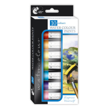 Pack of 10 Water Colours Paints