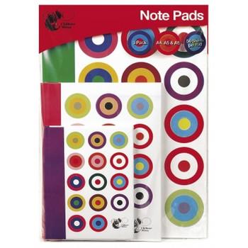 Chiltern Wove Note Books Triple Pack A6, A4, A5