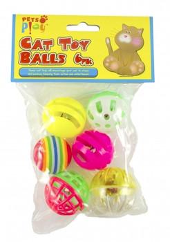 Cat Toy Balls 6pk