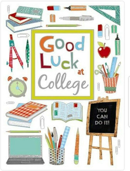 Good Luck at College Card