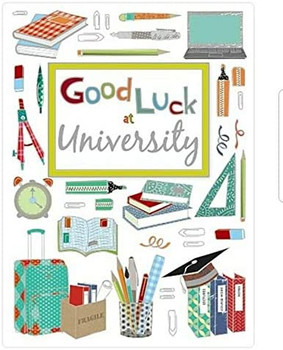 Wishing Well Good Luck at University Card