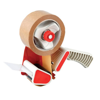 County Parcel Tape Dispenser with 48mm x 50m Tape