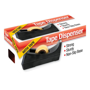 Desk Tape dispenser with 18mm x 20m Tape