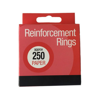Box of 250 Paper Reinforcement Rings