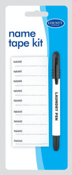 Name Tape Kit By County